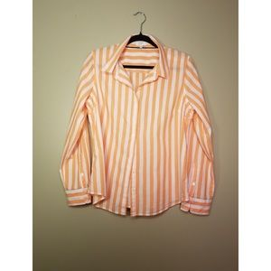 Crown & Ivy Women's Button Front Shirt